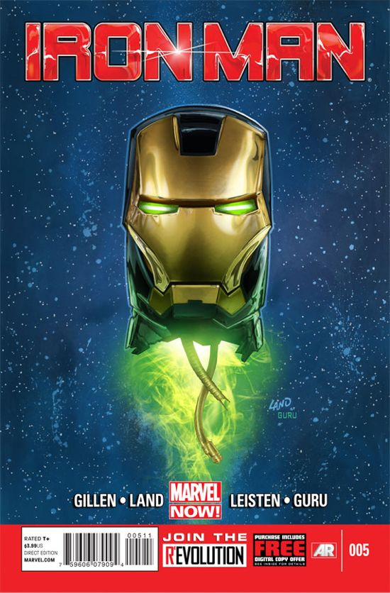 Iron Man #5 Cover