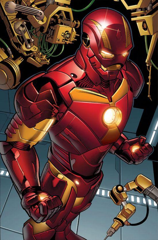 Iron Man #5 Page 3