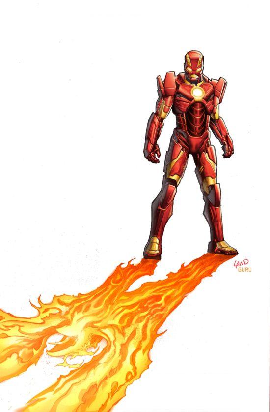 Iron Man #6 cover