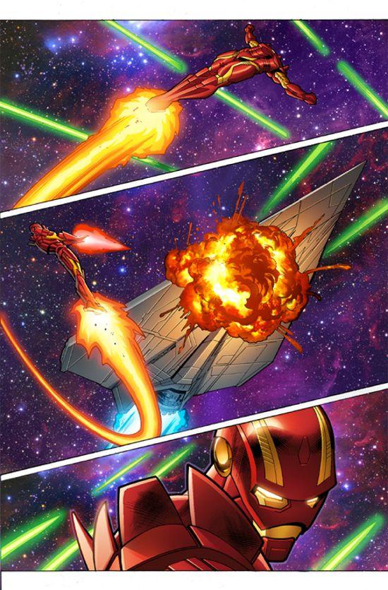 Iron Man #6 Preview 1