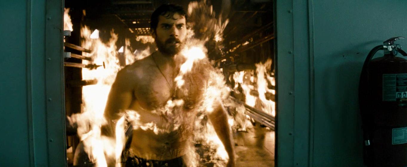 man-of-steel-clark-on-fire