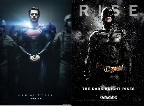Man of Steel and The Dark Knight