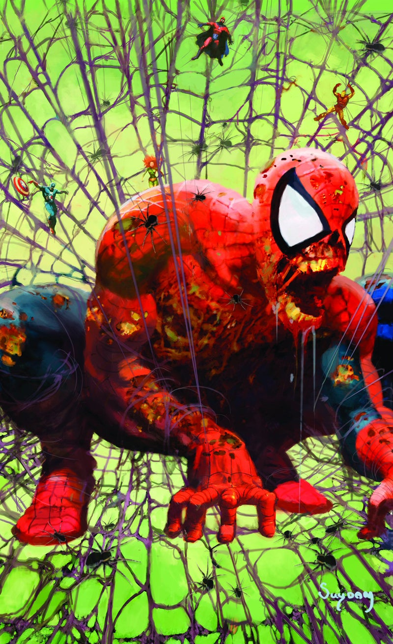 marvel_zombies_Spider-Man Cover