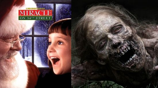 Miracle on 34th Street The Walking Dead