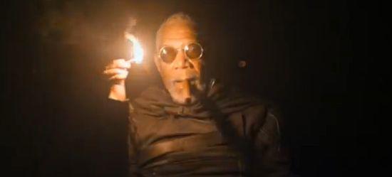 Oblivion Morgan Freeman