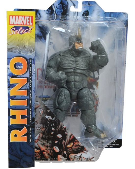Rhino Marvel Select front packaging