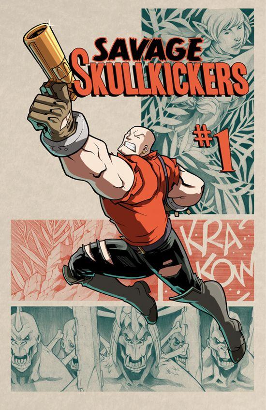 Savage Skullkickers #1