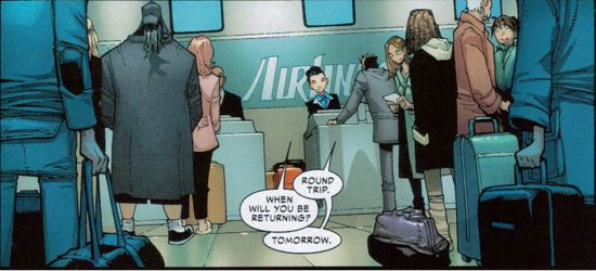 Silent Bob cameo in Amazing Spider-Man #700