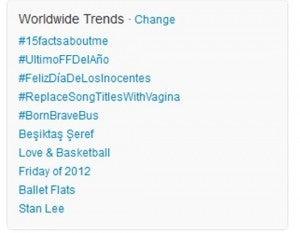Stan Lee Trending on Twitter