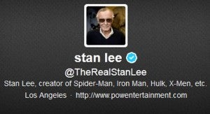 Stan Lee tweets
