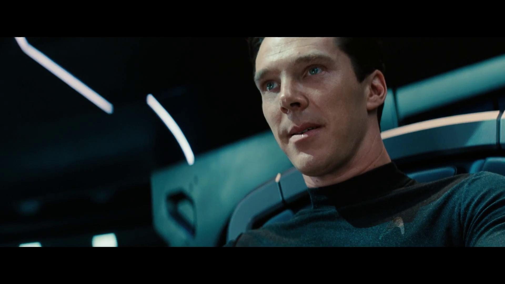Star Trek Into Darkness Cumberbatch Channeling The Joker Hannibal