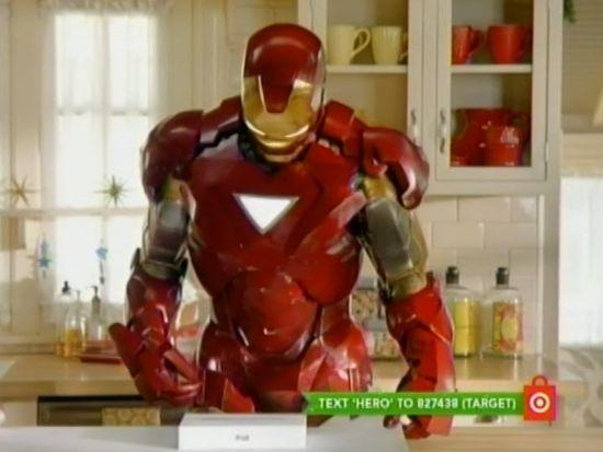Target Iron Man