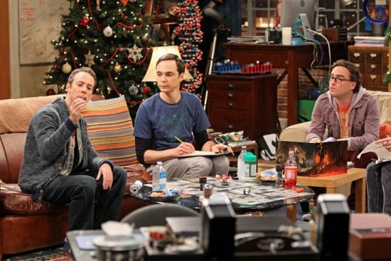 The Big Bang Theory The Santa Stimulation