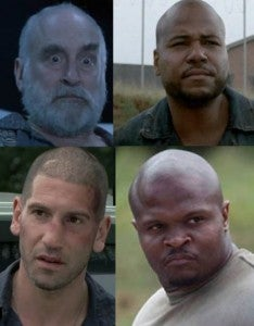 The Walking Dead Bald Men