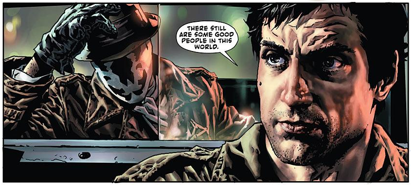 Before Watchmen: Rorschach Rides With the Taxi Driver