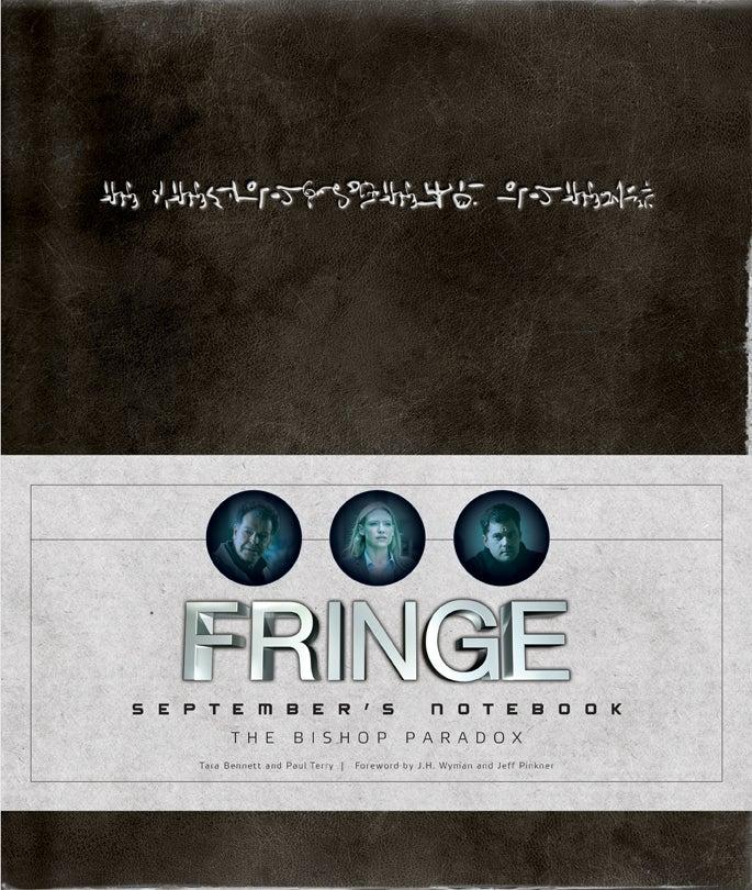 Fringe September's Notebook Cover