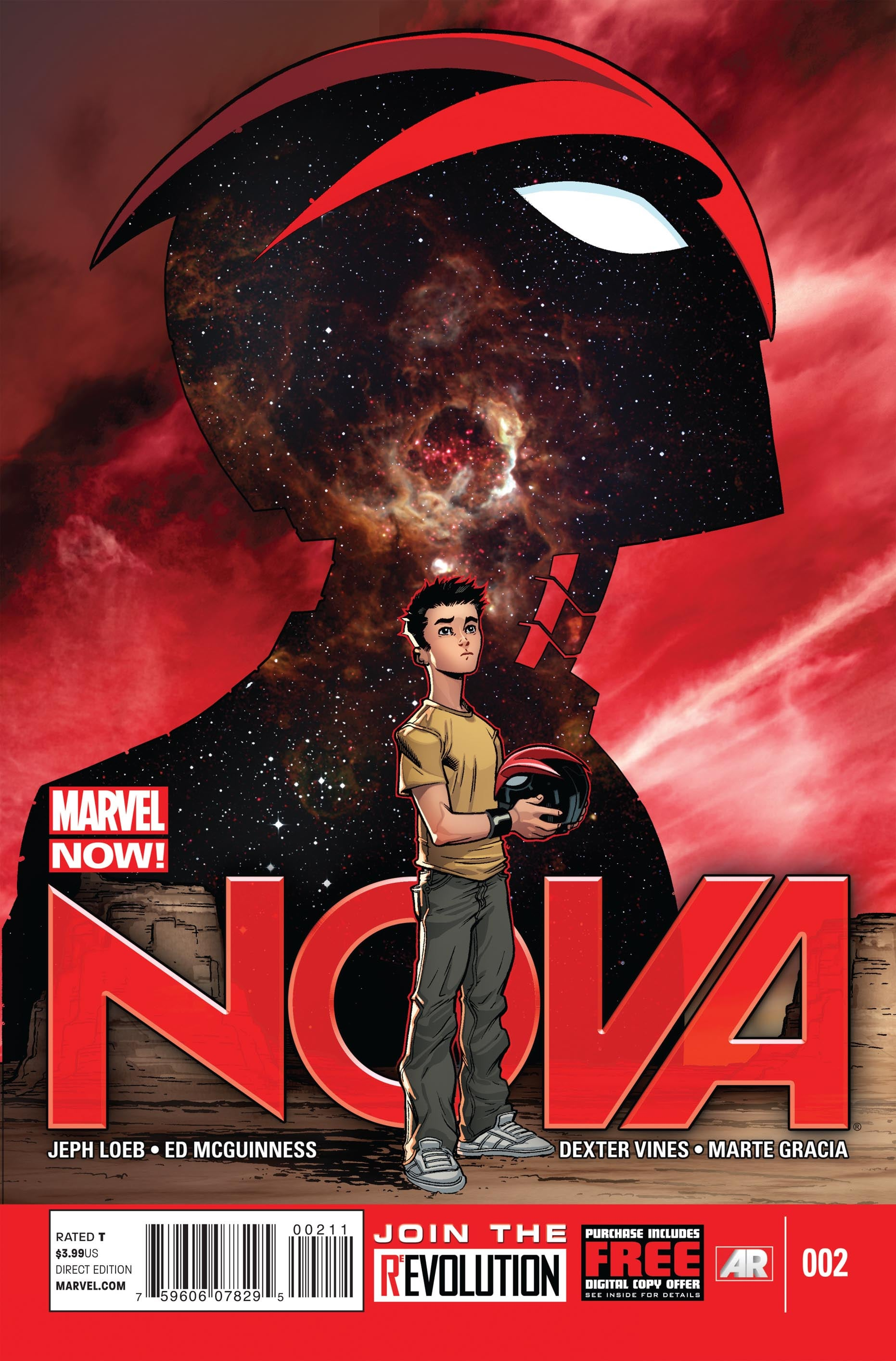 Marvel Comics Previews Nova #2