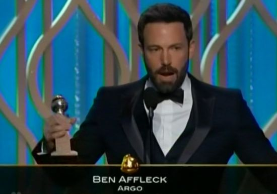 Ben Affleck Best Director Golden Globe