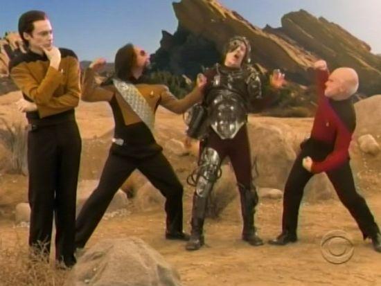 The Big Bang Theory Star Trek