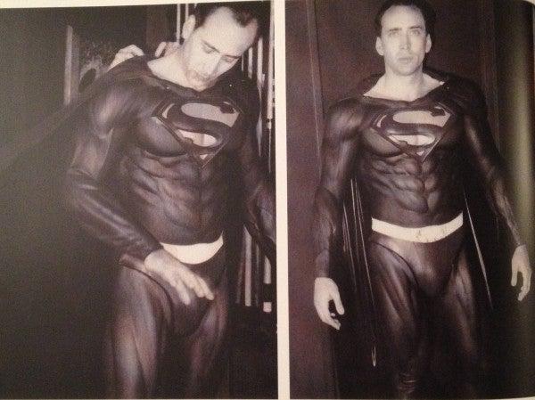 Nicolas Cage as Superman Photograph Surfaces