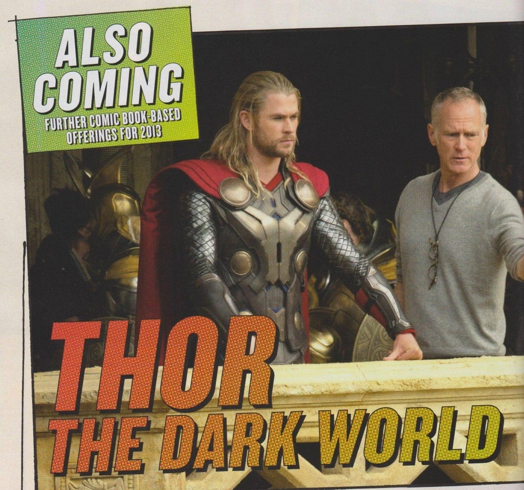 Thor: The Dark World's First Official Image Revealed