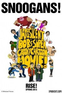 Jay and Silent Bob's Super Groovy Cartoon Movie Poster