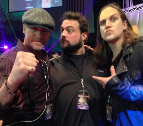 Michael Rooker, Kevin Smith, and Jason Mewes