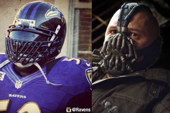 Ray Lewis Bane Face Mask