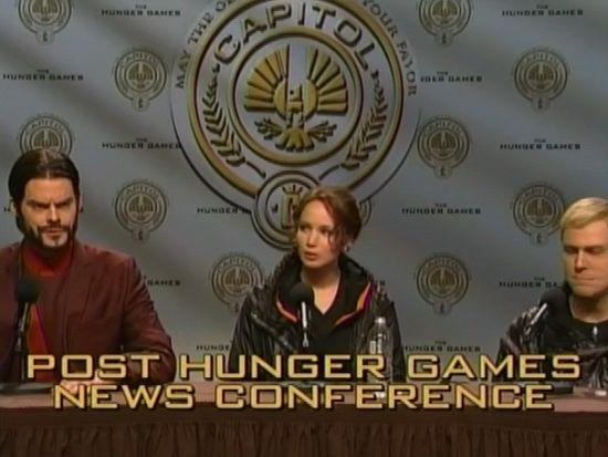 Saturday Night Live Hunger Games Skit