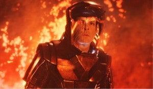 Spock In Volcano