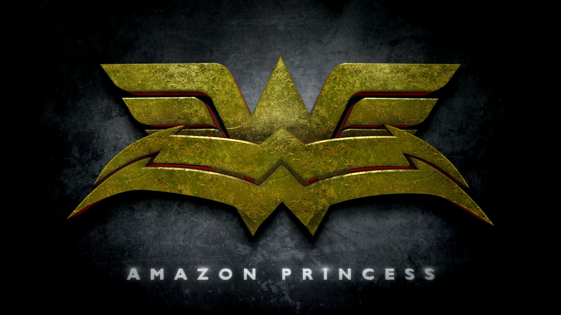 Wonder Woman Amazon Princess Logo in the Style of Man of Steel - Imgur