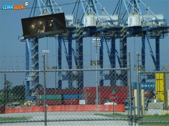 Alrich at Port of Wilmington
