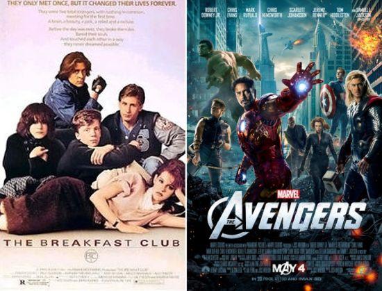 Avengers Breakfast Club Movie Mashup