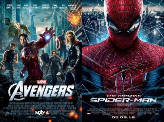The Avengers And Amazing Spider-Man Nominated For Kids ...