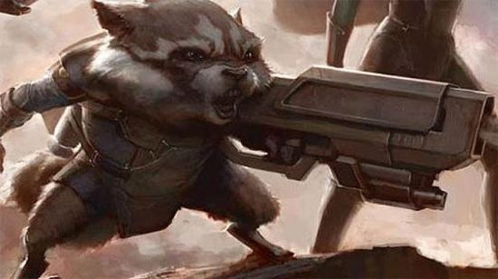Guardians of the Galaxy Rocket Racoon