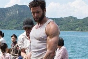 Hugh Jackman's biceps