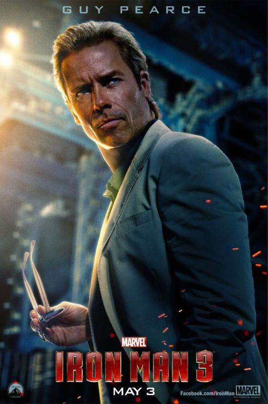Iron Man 3 Guy Pearce Poster
