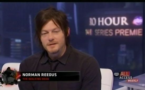 Norman Reedus All Access Weekly