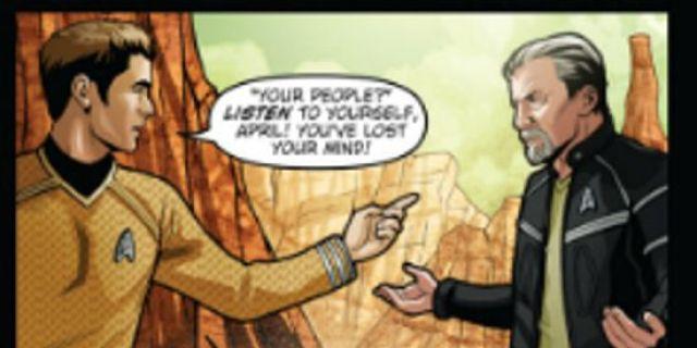 Star Trek Into Darkness Prequel Comic Hints At Villain