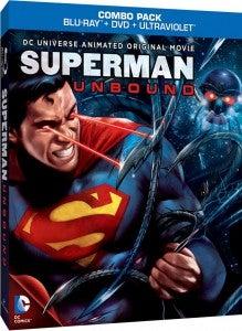 Superman Unbound Blu-ray