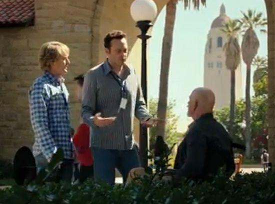 Vince Vaughn And Owen Wilson Look For Professor Xavier In The Internship