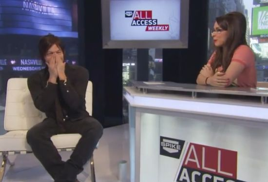 The Walking Dead Norman Reedus Spike All Access Weekly