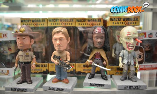 Toy Fair Walking Dead Bobbleheads