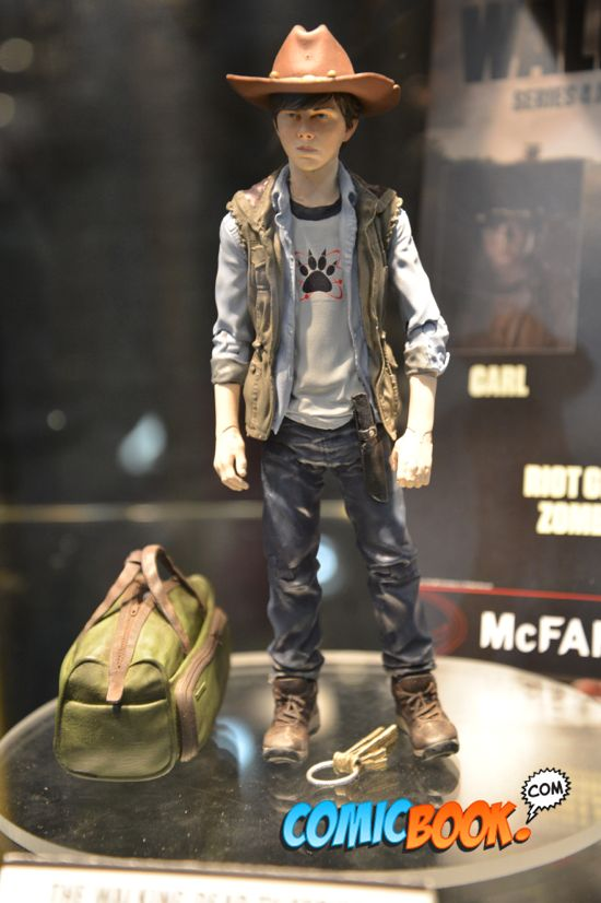 Toy Fair Walking Dead Carl