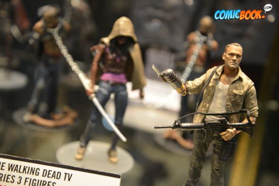 Toy Fair Walking Dead Michonne & Merle