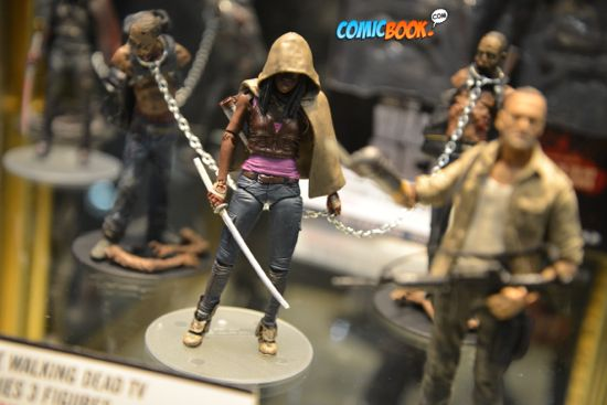 Toy Fair Walking Dead Michonne