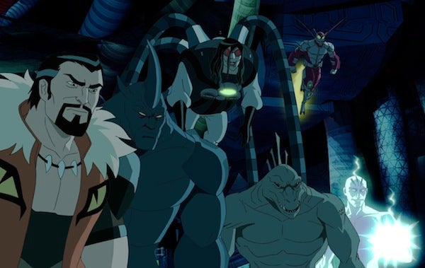 KRAVEN THE HUNTER, RHINO, DOC OCK, LIZARD, BEETLE, ELECTRO