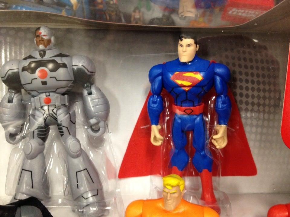 Cyborg, Superman and Aquaman