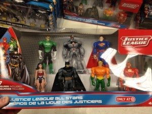 Justice League All Stars Target Pack