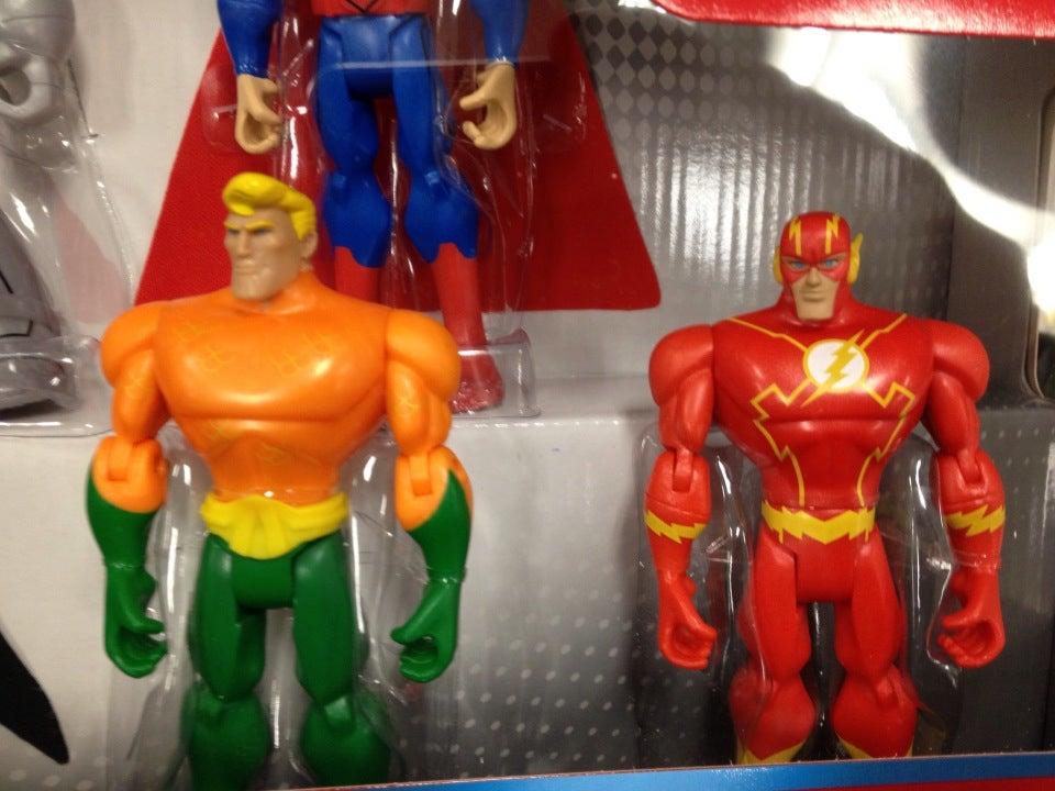 Flash, Aquaman